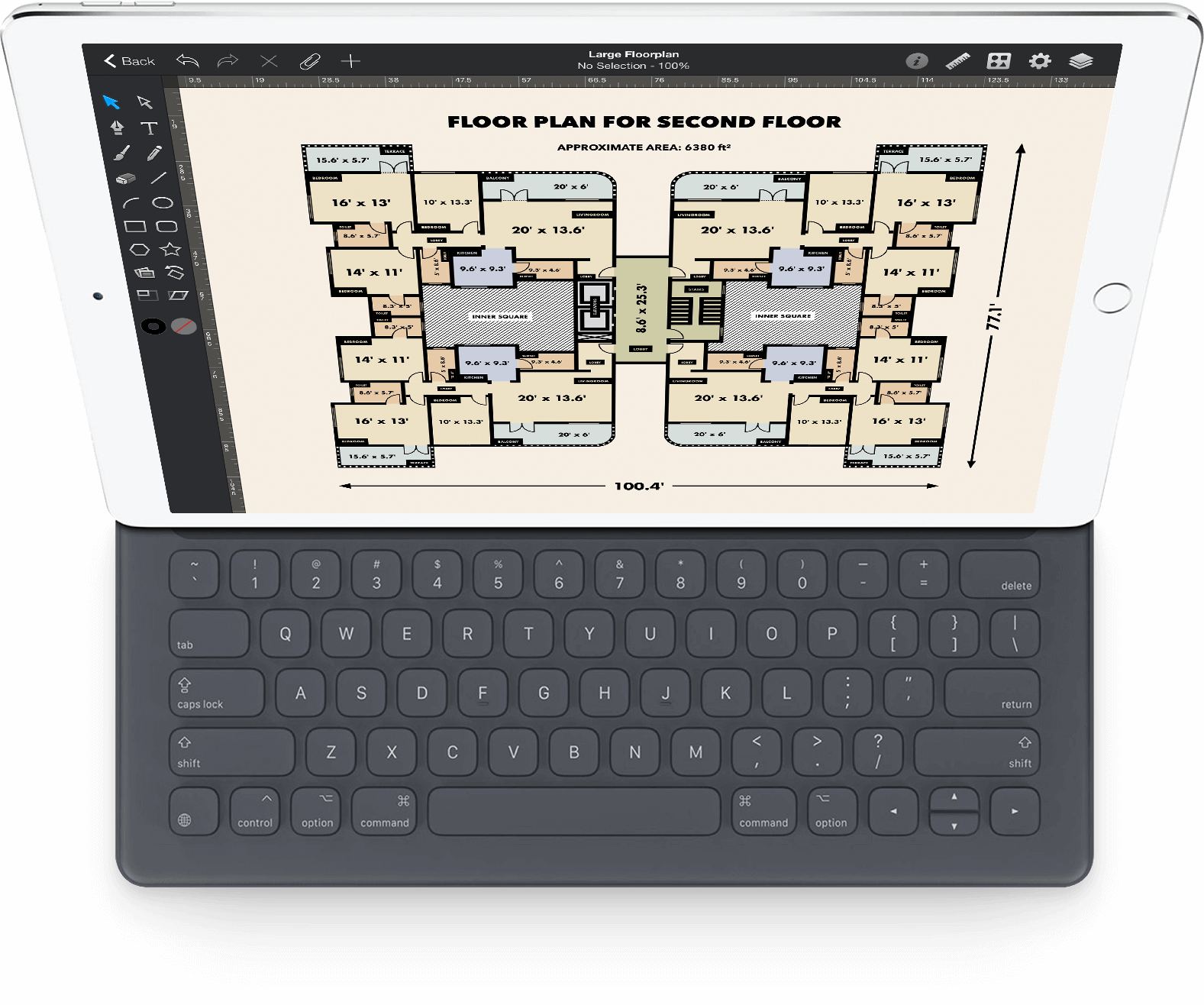 interior design for ipad tutorial keyboard