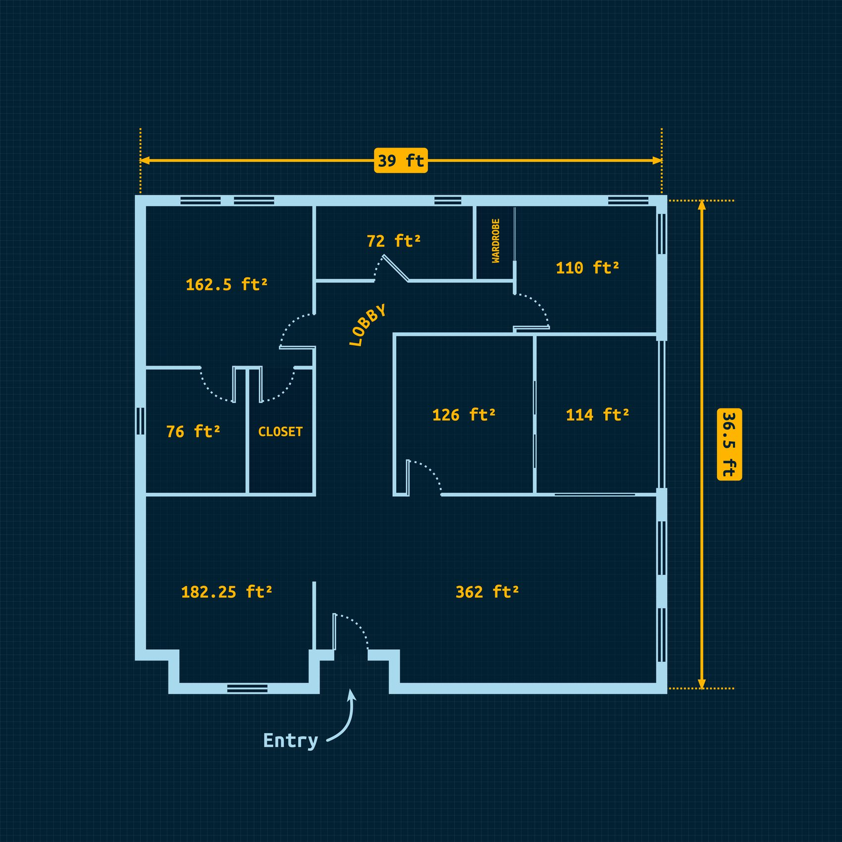 Graphic - Create a Floor Plan Design