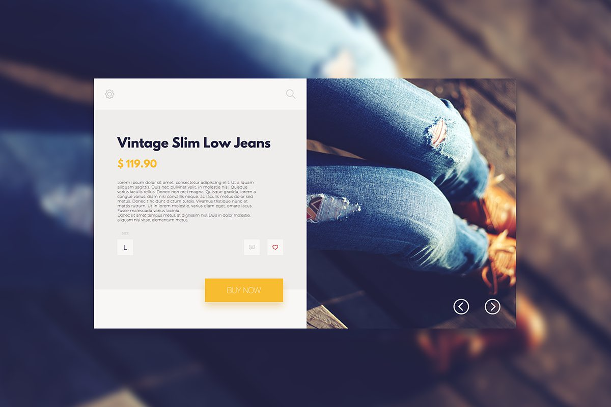 3119db96d Create a Fashion Store Product Page