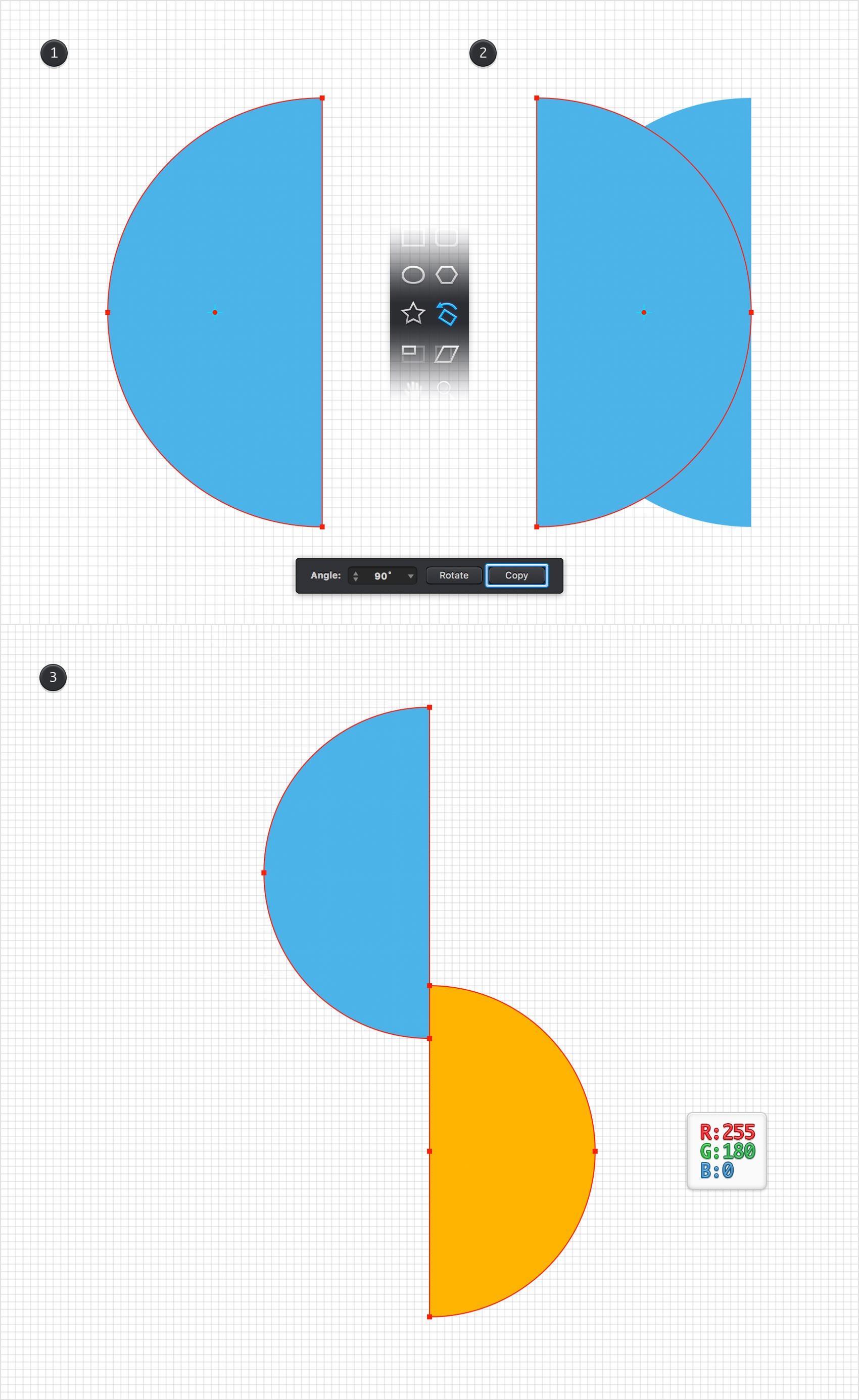 Graphic - Create a Vertical Infographic