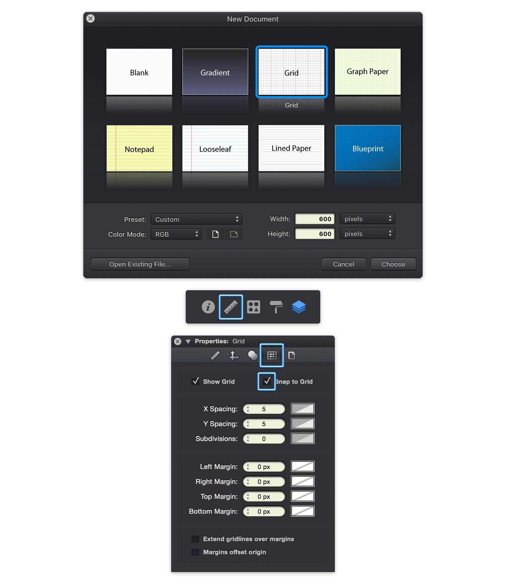 Graphic - Create a Line Chart Design