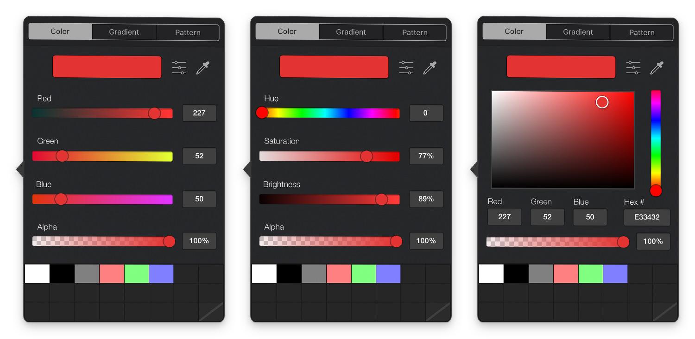 Graphic Color Picker